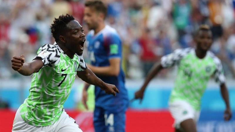 La presión nubla a Islandia y Nigeria renace | 2-0