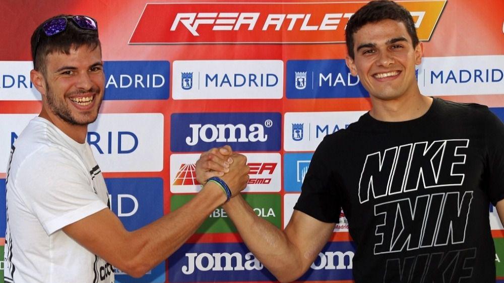 Hortelano y Husillos abren una senda histórica en el atletismo español