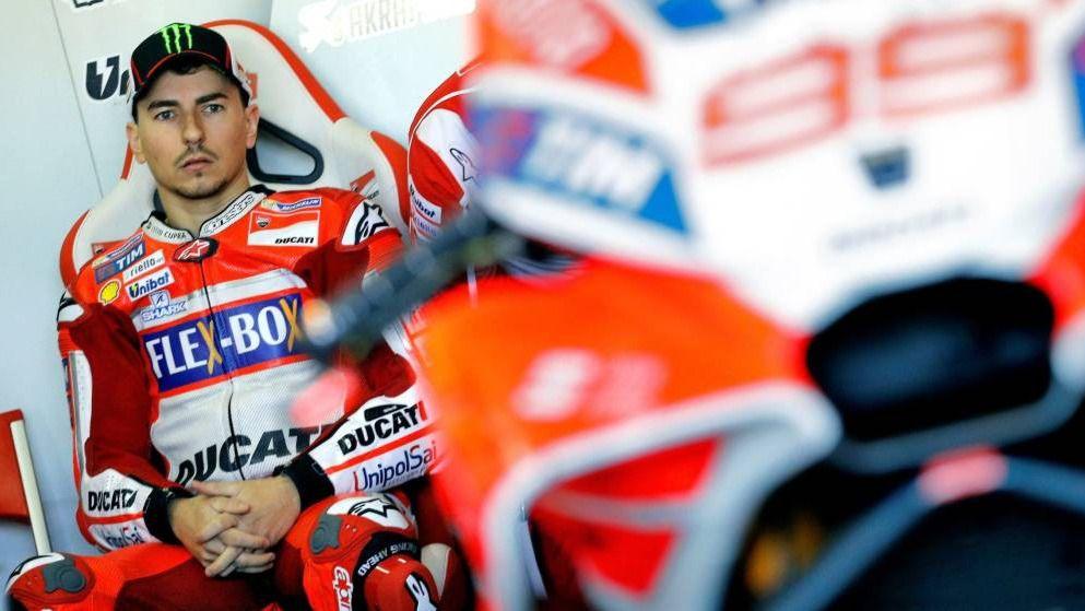 Ducati evidencia fractura en su cúpula por haber prescindido de Jorge Lorenzo