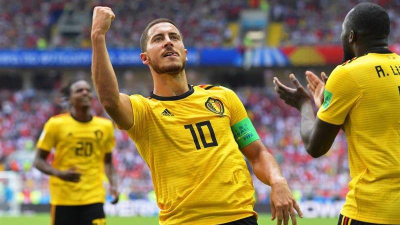 El talento de Hazard y de Bélgica estalla ante Túnez | 5-2