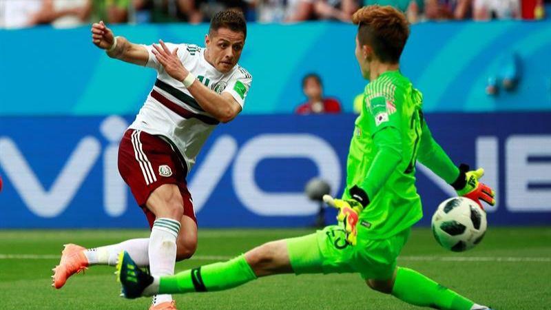México gana a Corea y presiona a Alemania | 1-2