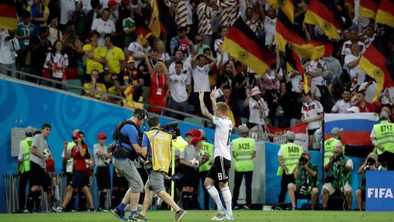 Kroos rescata a Alemania de la pesadilla sueca | 2-1