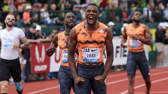 Lyles y Coleman siguen batiendo los registros de Usain Bolt a su edad