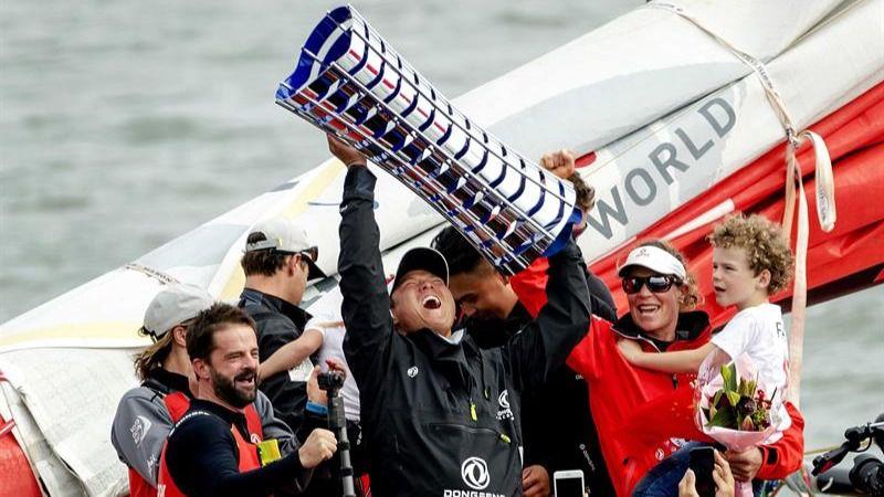 El Dongfeng chino gana la Volvo Ocean Race y el Mapfre español llega segundo