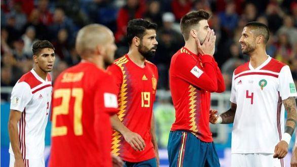 España, primera de grupo de carambola