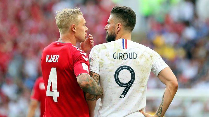 Francia y Dinamarca, bostezos y clasificación para ambos |0-0