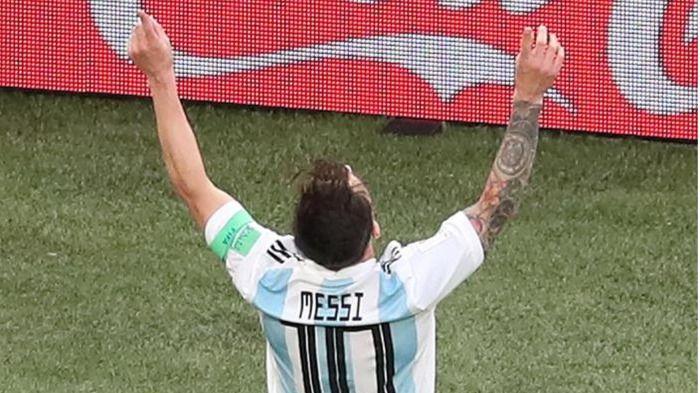 Argentina salva la eliminación y se medirá a Francia en octavos |1-2