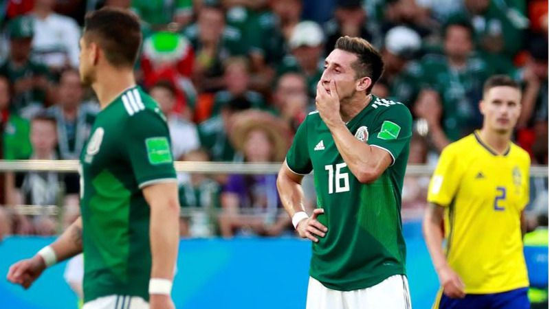 México salva el ko ante una Suecia primera |0-3