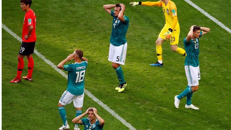 Alemania consuma la catástrofe: eliminada del Mundial |2-0