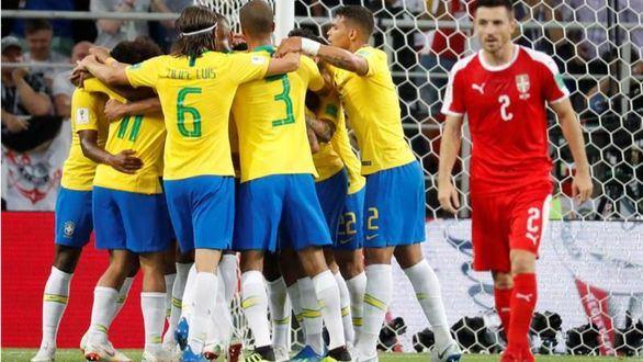 Brasil no quiso sorpresas y cumplió contra Serbia |0-2