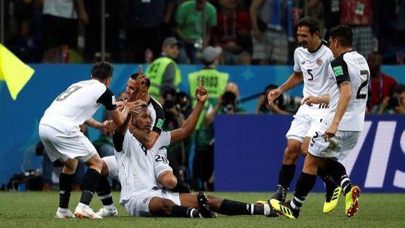Costa Rica honra su Mundial con un último punto  2-2