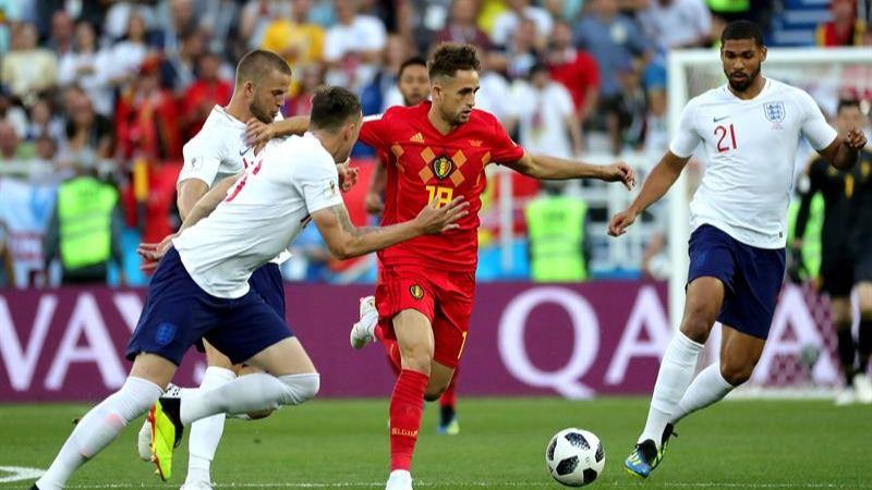 Bélgica elige ganar e Inglaterra jugará en el lado español | 0-1