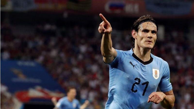 Cavani pone a Uruguay rumbo a cuartos de final |2-1