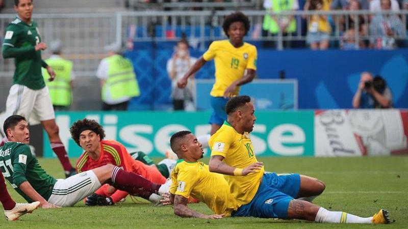 Neymar y William tumban a México y tiran de Brasil hacia cuartos | 2-0