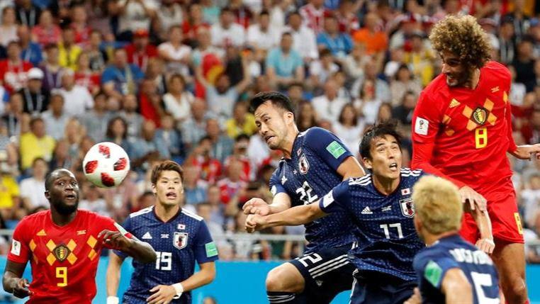 Japón destroza el favoritismo pero Bélgica llega a cuartos | 3-2