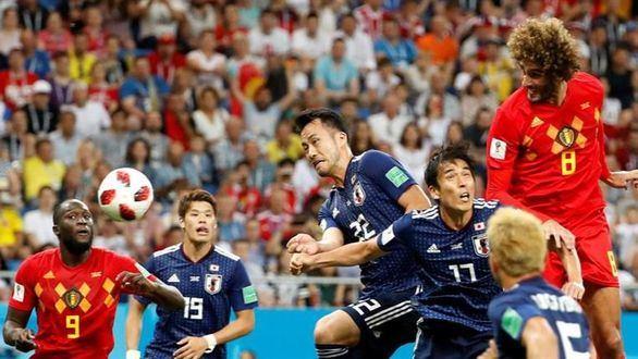 Japón destroza el favoritismo pero Bélgica llega a cuartos   3-2