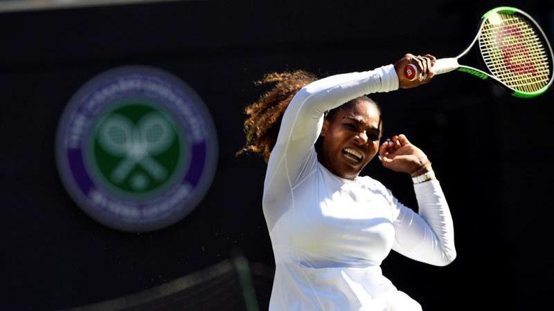 Wimbledon. Serena Williams y Federer regresan con éxito