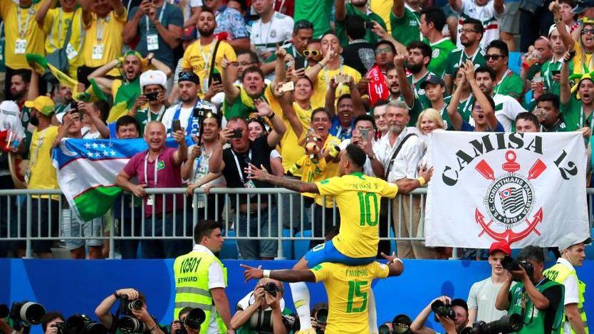 Brasil vuelve a ser la selección más goleadora de la historia de los Mundiales