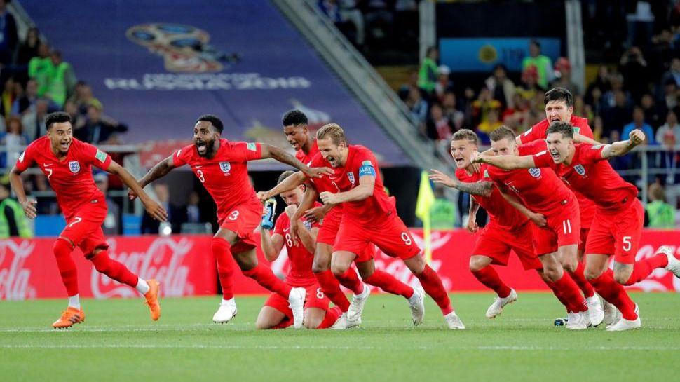 Inglaterra gana la guerra a Colombia y Suecia acompleja a Suiza