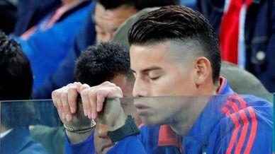 La impotencia de James por Colombia, bañada en lágrimas