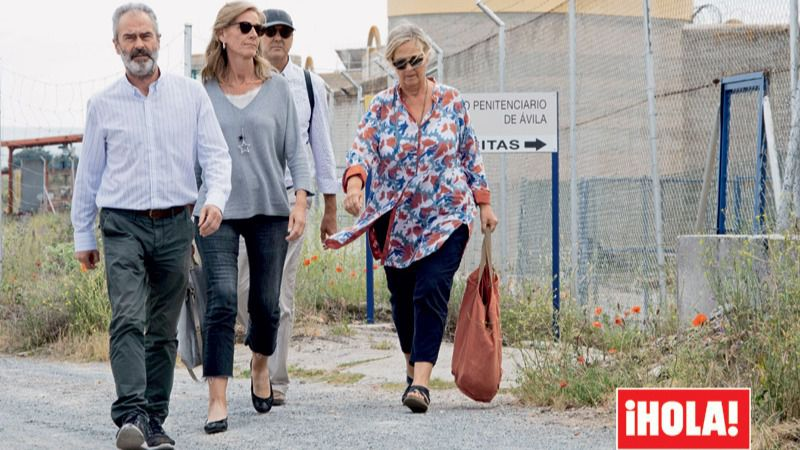 Las hermanas de Iñaki Urdangarin visitan al exduque en la cárcel