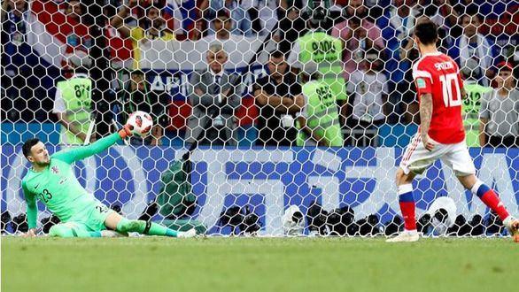 Croacia sigue aliada con los penaltis y elimina a Rusia |2-2
