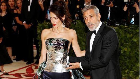 George Clooney sufre un accidente de moto en Cerdeña