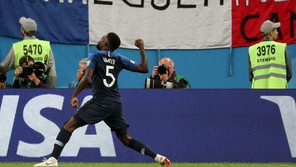 Francia confirma su favoritismo y acaba con el sueño belga  1-0