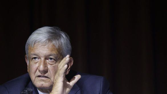 López Obrador charla con Trump pero no trata sobre el muro que pretende construir el magnate