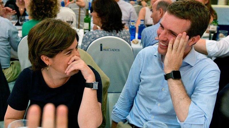 Santamaría Y Casado Cenan Juntos Tras Erigirse Como Candidatos El