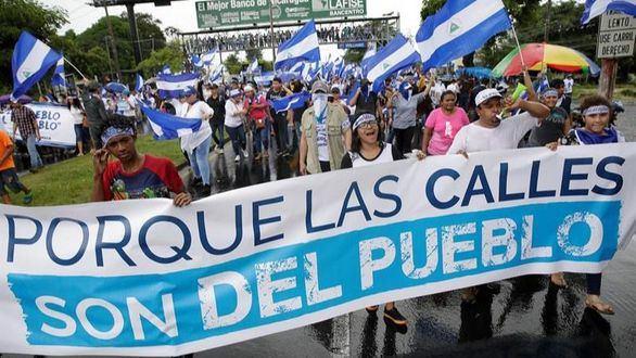 Millares de ciudadanos superan el miedo y protestan contra Ortega en Nicaragua