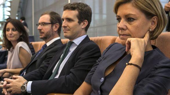 Maroto aplaude a Casado por convencer a Cifuentes y Aguirre