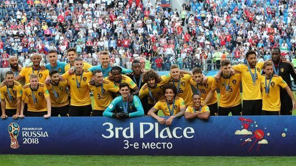 Bélgica ganó seis partidos en el Mundial pero se quedó sin final