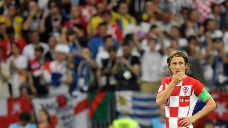 Modric, Balón de Oro del Mundial