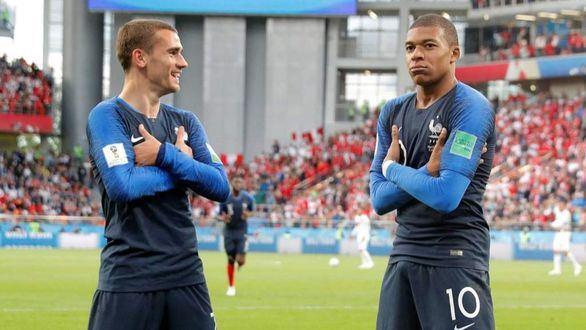 Griezmann, MVP de la final y Mbappè, mejor joven del Mundial
