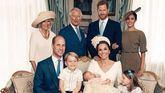 La familia real británica comparte cuatro fotos oficiales del bautizo de Luis