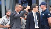 Cristiano Ronaldo en Turín.