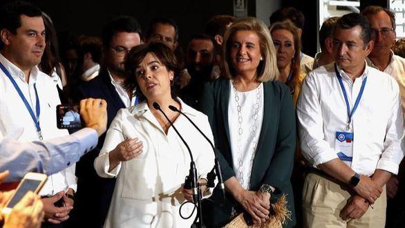 Santamaría: Toca reforzar el PP que Rajoy nos entrega