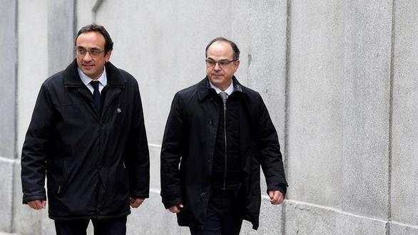 El TC rechaza suspender la prisión preventiva de Turull y Rull