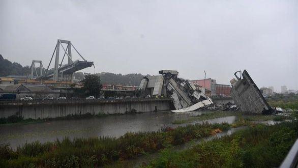 El derrumbe del puente de Génova, uno de los más graves de Europa