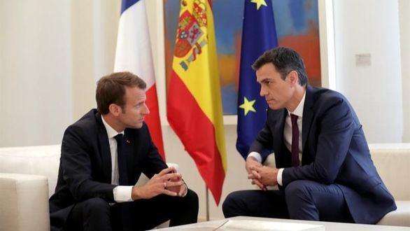 Macron pone en evidencia a Sánchez con el Aquarius