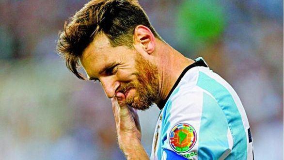 Messi no jugará con Argentina en 2018