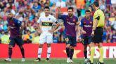 Malcom, Messi y Rafinha ponen los goles en la fiesta del Gamper
