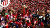 El Atlético se lleva la Supercopa en la fiesta de Madrid