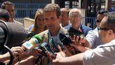 El líder del PP, Pablo Casado, este martes.