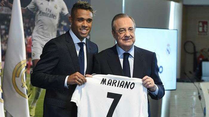 Mariano, presentado con el 7 de Ronaldo para cerrar una