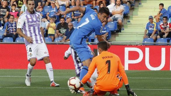 El Getafe perdona al Valladolid en el Alfonso Pérez | 0-0