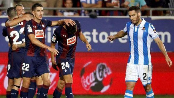 El Eibar renace ante la Real Sociedad | 2-1