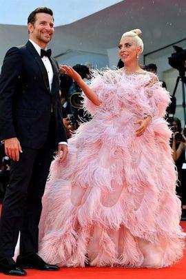 Lady Gaga y Bradley Cooper en la 75º edición de la Mostra de Venecia