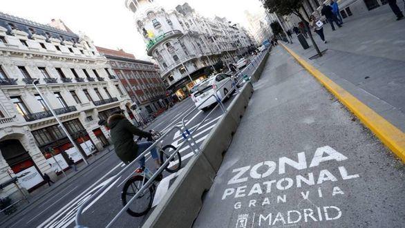 Carmena abrirá la nueva Gran Vía de Madrid el 24 de noviembre